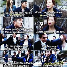 Lee Da Hae as Cameo in SBS Roommate. Omg, Dong Wook Oppa seems really take a good care to her!