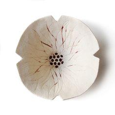 Poppy bowl Pottery bowl designed by Elizabeth Prince, Manchester