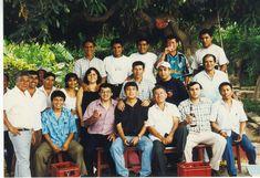 Despedida de Marco Flores. En Talambo año 2000