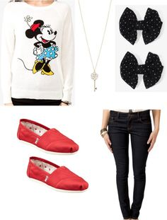 outfit to wear to disneyland by miss-landeros on Polyvore