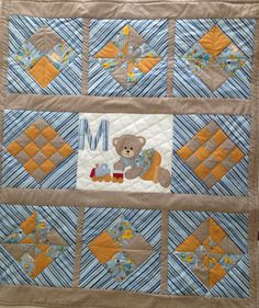 Baby Quilt made for a boy.