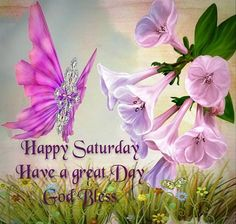Happy Saturday! Have a great day.   God bless