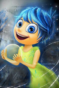 Pixar FanArt - Inside Out : Joy by Ruby--Art on DeviantArt