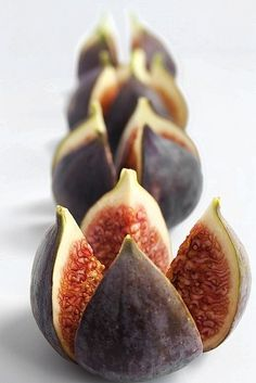 Figs - Roast in butter, caramelize with sugar, serve with vanilla yogart and drizzled honey