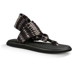 6311f9377a9c SANUK YOGA SLING 2 PRINTS - Women s Sandals Natural KOA Tribal
