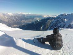 Snowboarding at Pitztal, Austria  #Mountains #Alps #Stunning