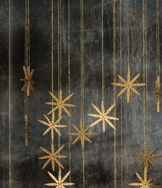 mokkasin-diy -_- Mehr Source by lisadanjek Christmas Star, Modern Christmas, Scandinavian Christmas, Winter Christmas, Christmas Crafts, Xmas, Christmas Ornaments, Star Decorations, Christmas Decorations