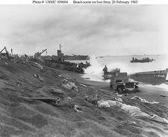 Jeep Iwo Jima Beach 1945