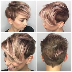 Edgy Platinum Spikes - 40 Best Edgy Haircuts Ideas to Upgrade Your Usual Styles - The Trending Hairstyle Edgy Haircuts, Pixie Hairstyles, Pixie Haircut, Pretty Hairstyles, Hairstyle Ideas, Bangs Hairstyle, Easy Hairstyle, Sarah Louwho, Short Hair Cuts