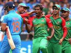 मौजूदा चैम्पियन भारतीय टीम ने मेलबर्न क्रिकेट मैदान (एमसीजी) पर जारी आईसीसी विश्व कप-2015 के क्वार्टर फाइनल मुकाबले में बांग्लादेश