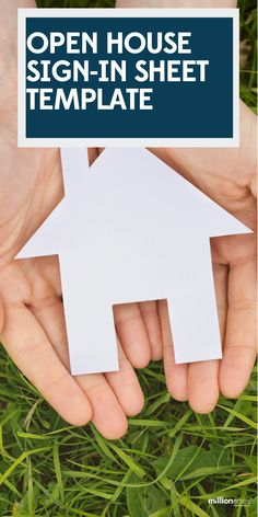 As a real estate agent, one of the most important tools you can bring with you is an open house sign-in sheet. In this article, we'll discuss why a sign-in sheet is so important, and we'll give you a free printable template to use at your next open house. #signin #sheet #house #openhouse #realtor #realestate #showinghome Sign In Sheet Template, Open House Signs, Real Estate Investor, Etsy Business, Rental Property, Home Signs, Free Printables, Investing, Cards Against Humanity