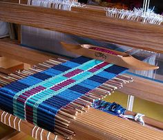 grass weave on the loom | Flickr - Photo Sharing!