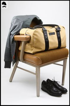 Beautyful Duffel Bag from Wheelmen & Co. For only $159.00