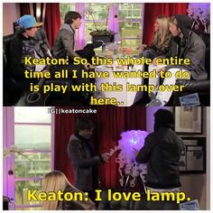 LOL this is why I love you Keat!
