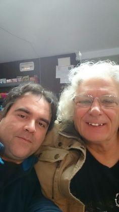 Alan Entwistle en Partitura Málaga junto a nuestro Tony!