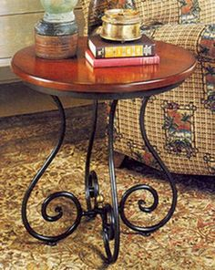 1000 images about herreria on pinterest wrought iron for Rod iron and wood coffee table
