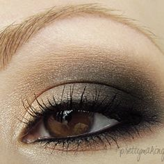 For a detailed step-by-step on how to achieve this look, you can view the blog post I wrote here: http://prettymaking.blogspot.com/2012/05/eotd-neutral-smokey-eye.html [...]