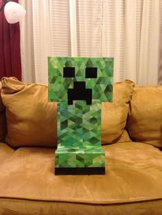 Mindcraft creeper valentine box