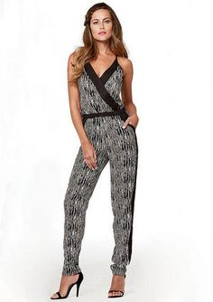 7c10b779b65a Adriana Color-Block Jumpsuit - Alloy Plus - Clothing - Alloy Apparel