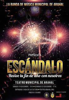 Vendidas en un tiempo record todas las entradas para el musical Escándalo de la @BMMArahal para estas navidades