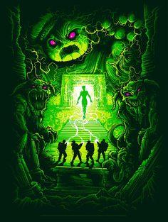 """Ghostbuster"" by Dan Mumford"