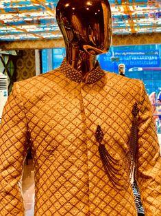 fall 2019  #art #indian #indianwedding #indianfashion #indianwear #fashion #fashiondesign #fashionweek2018 #fashionweek #design #handmade #groom #groomsmen #men #mensfashion #shadi #sherwani #hyderabad #motiwork #zari #embroidery #embroiderypatterns #pattern #style #inspirational #delhi #mumbai #pune #noida #unitedstates #canada #chicago #club #australia Indian Groom Wear, Indian Wear, Indian Fashion, Mens Fashion, Fashion Week 2018, Gold Silk, Sherwani, Pune, Hyderabad