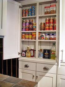 New Tall Narrow Kitchen Storage Cabinet