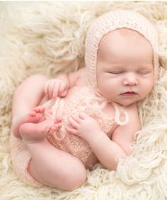The Tiny Blessings Boutique Baby Pink Mohair Romper  amp  5ca349a06b80