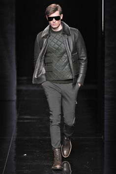 Porsche Design Autumn/Winter 2015 New York Fashion Week Menswear #NYFW