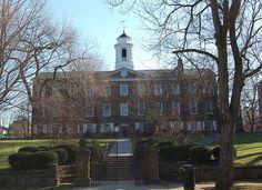 Old Queens, Rutgers University - New Brunswick, New Jersey