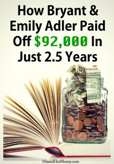Do you think that the one thing that is holding you back from becoming debt free, is that you don't earn a high income? Well, let today be the last time that you think that thought. Today on The His & Her Money Show, we feature an interview with Bryant and Emily Adler from The Adler Debt Project. They share their story of destroying over $92,000 worth of debt in just 2.5 years! And the best part is that they were able to accomplish this on two teacher salaries. Pay off Debt #debt #debt Pay…
