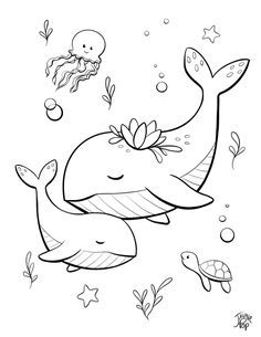 Cute Coloring Pages, Free Printable Coloring Pages, Coloring For Kids, Adult Coloring Pages, Coloring Sheets, Coloring Books, Creation Coloring Pages, Doodle Drawings, Animal Drawings