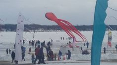 Sky Circus on ice 2015 #Lakelawn #GiftofWings #Kites