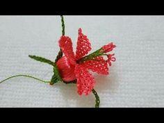 Anatımlı İğne Oyası Çiçek Yapı