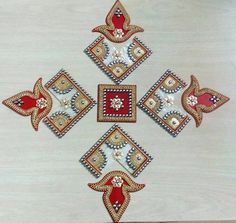 Items similar to Wedding return gift, Acrylic Marble Swastik Rangoli Ganesh Wedding decor Mandala Kolam Traditional Floor Decoration Hindu Home Decoration on Etsy Diwali Decoration Items, Diya Decoration Ideas, Diwali Decorations At Home, Decoration For Ganpati, Diwali Diy, Diwali Craft, Rangoli Designs Images, Beautiful Rangoli Designs, Hobbies And Crafts