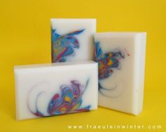 Butterfly-Swirl - cold process soap