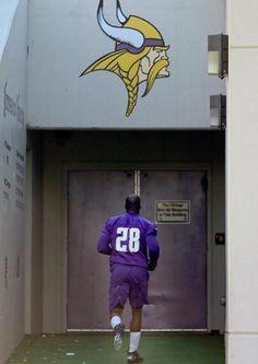 Minnesota Vikings' Adrian Peterson