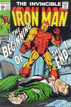 Iron Man 17 - Metal - Armor - Computerized - Tony Stark - Unconscious