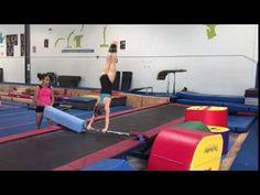 Jaeger drill on tramp bar Gymnastics Coaching, Gymnastics Bars, Gymnastics Conditioning, Female Gymnast, Drills, Super Powers, Videos, Youtube, High School