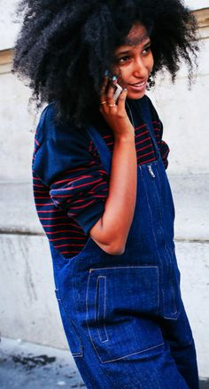 Julia Sall-Jamois / PFW F15 / by Phil Oh / vogue.com