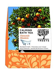 Treets Badetee Duft Kamille / Mandarine, 1er Pack (1 x 210 g)
