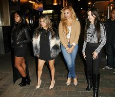 Fifth Harmony leaving The Dorchester in London - 11/2