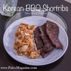 Get this Paleo Korean BBQ Shortribs Recipe and start enjoying this restaurant favorite from the comfort of your own home.