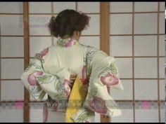 How To Dress Yukata & Kimono Part1 by ICHIROYA.COM - YouTube