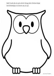 8 Beste Afbeeldingen Van Uil Sjablonen Owl Patterns Fabric Owls