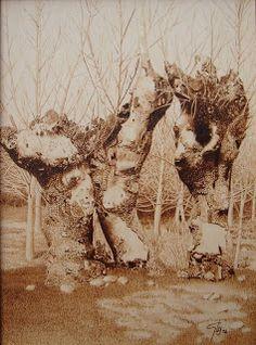 7 das Artes: Pirografia.
