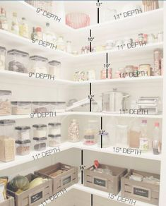 Do you know how to get the most out of your kitchen pantry storage? Read Ways to Create more pantry and kitchen Storage - maximize what you have got. pantry Pantry Cabinets – 7 Ways to Create Pantry and Kitchen Storage Kitchen Pantry Storage, Pantry Room, Kitchen Pantry Design, Pantry Cabinets, Food Storage, Kitchen Decor, Kitchen Ideas, Kitchen Pantries, Kitchen Corner