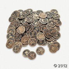 Pirate Coins ~ Oriental Trading
