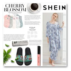 """""""Shein-2"""" by thefashion007 ❤ liked on Polyvore featuring WithChic and Bobbi Brown Cosmetics"""