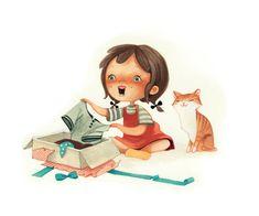 I Love Cats, Dog Cat, Disney Characters, Fictional Characters, Feelings, Disney Princess, My Love, Dogs, Paintings